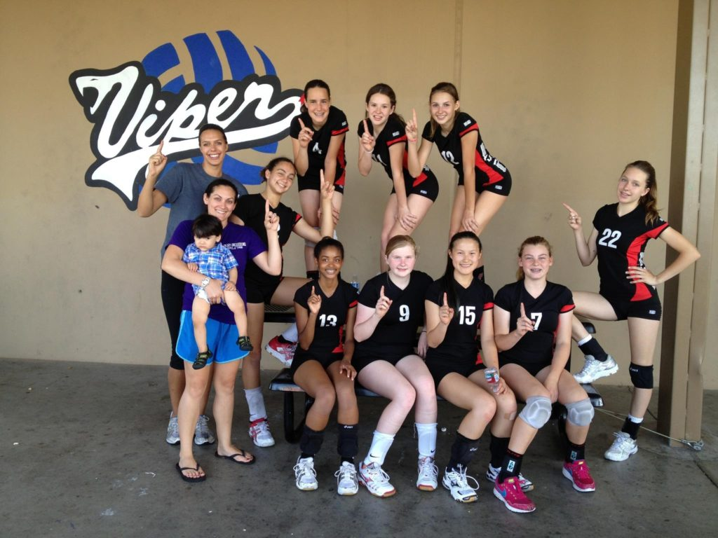 San Gabriel Elite Volleyball Club, CA 2012