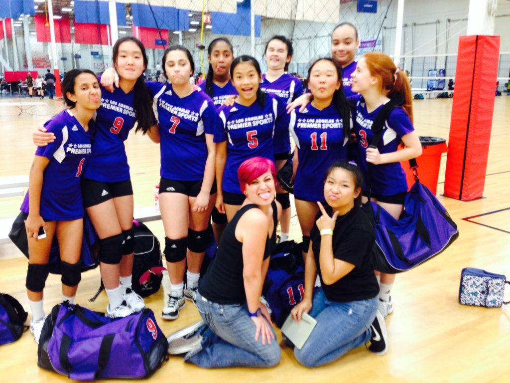 LA Premier Volleyball Club, CA - 2015