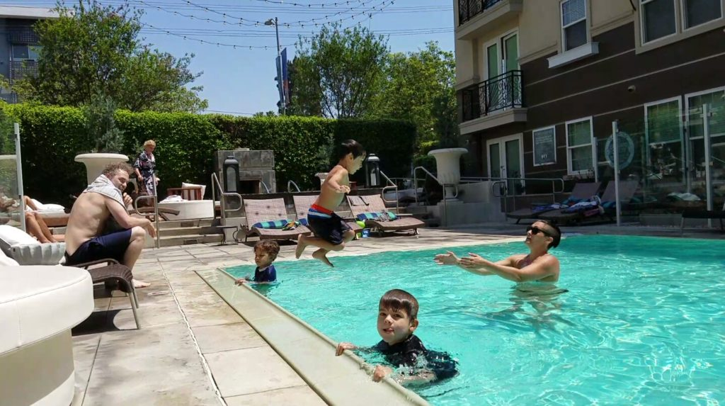 EVOLVE Water Safety Class, Hollywood, CA 2016